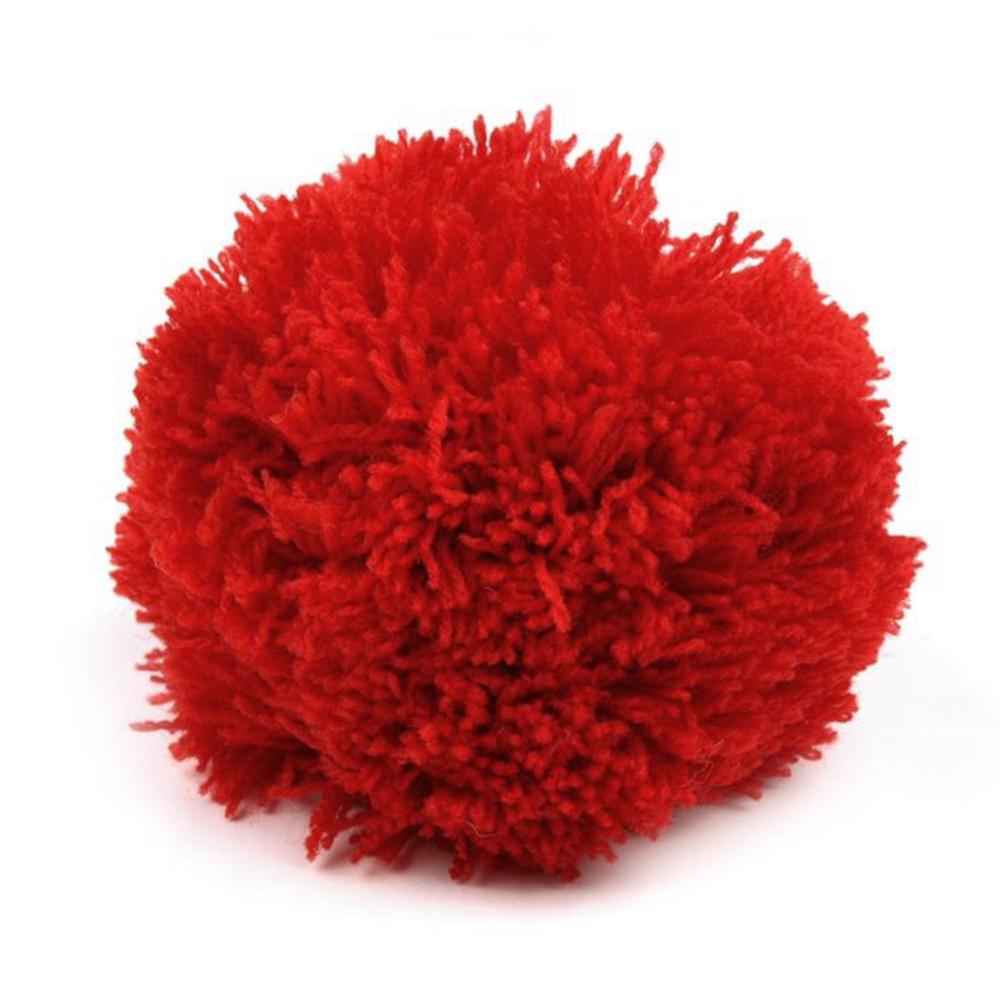 Pompon / Bommel 8,5cm Durchmesser in Rot