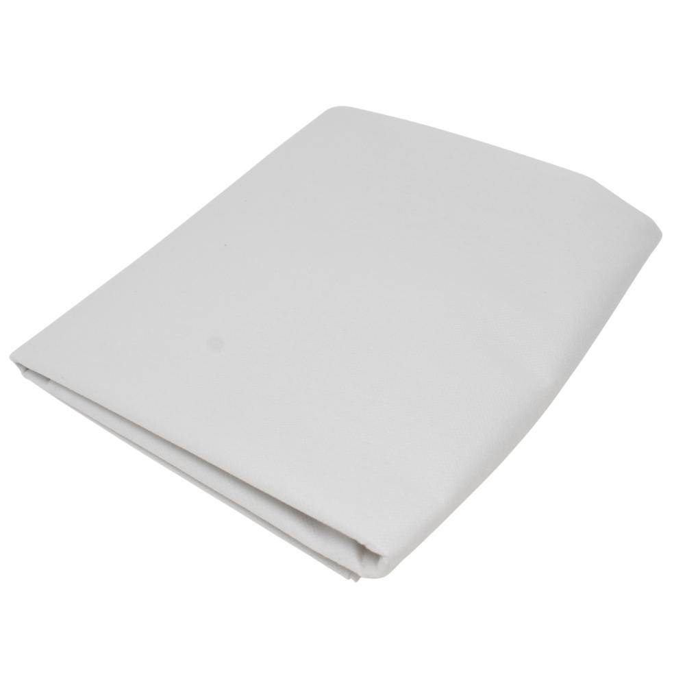2m Bügelvlies 90cm Breite 40g/m² aus 100% Polyester in Weiß