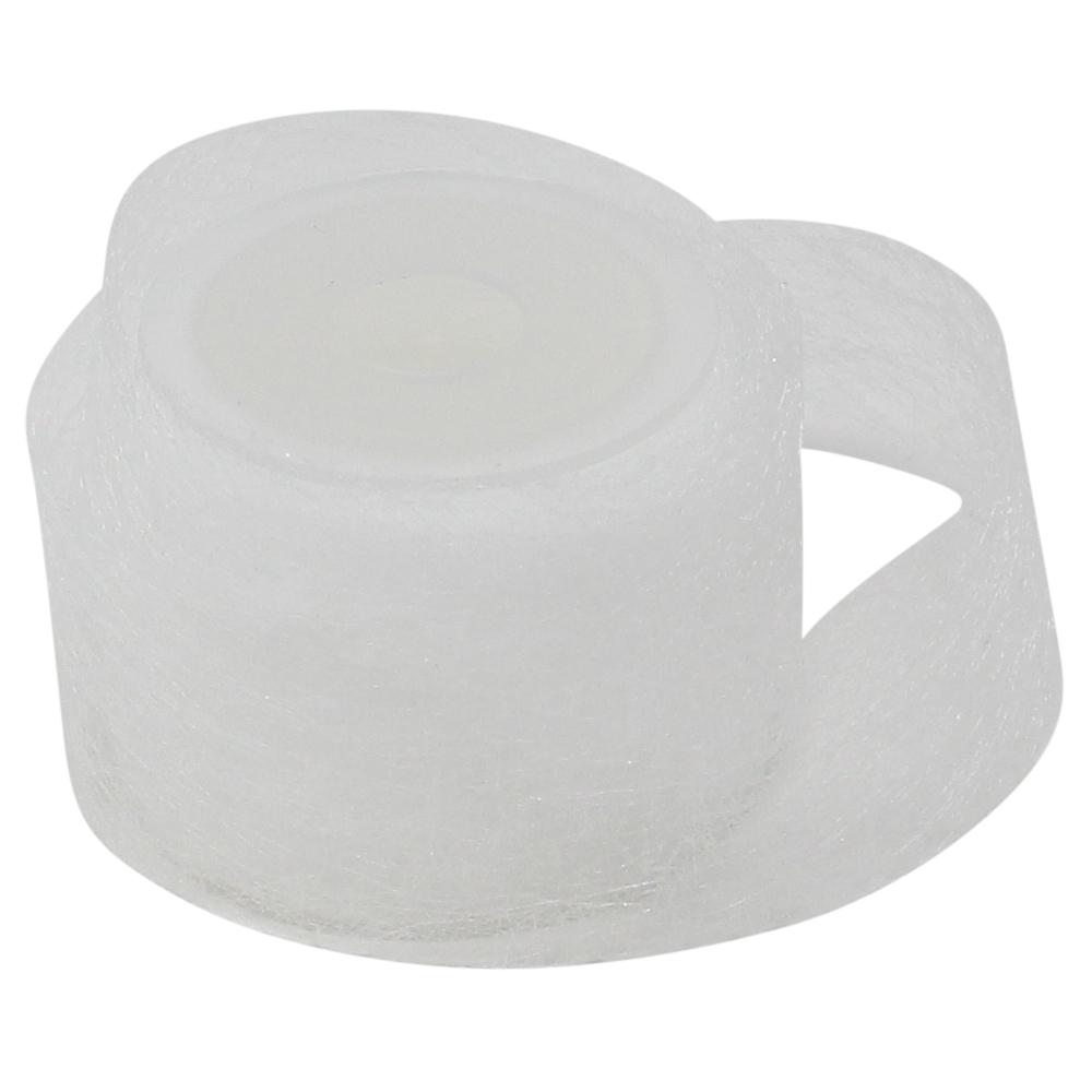 5m Saumband zum aufbügeln in weiß