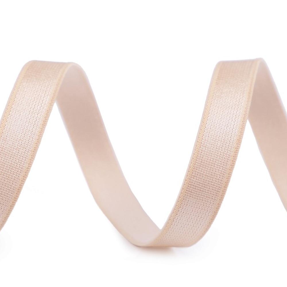 Träger Gummiband aus Satin 10 mm in Hautfarbe (11)