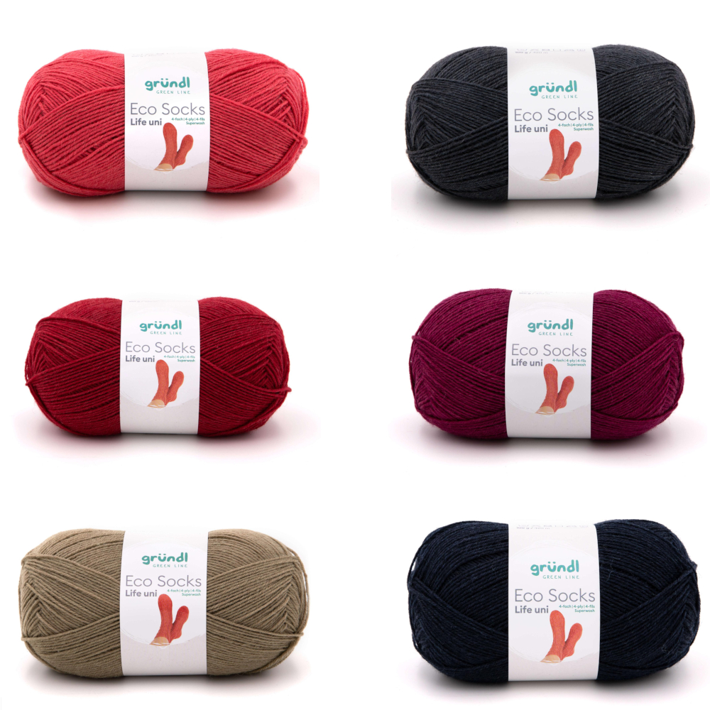 GRÜNDL | Eco Socks Life uni, 100 g