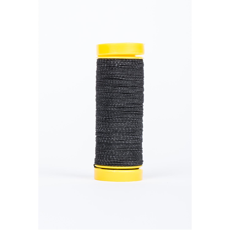 Gummi-Nähfaden in Schwarz - 10m - auf Spule