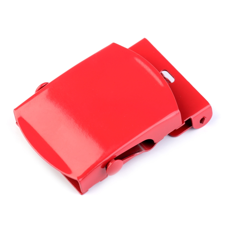 Gürtelschnalle - 34mm  - Rot