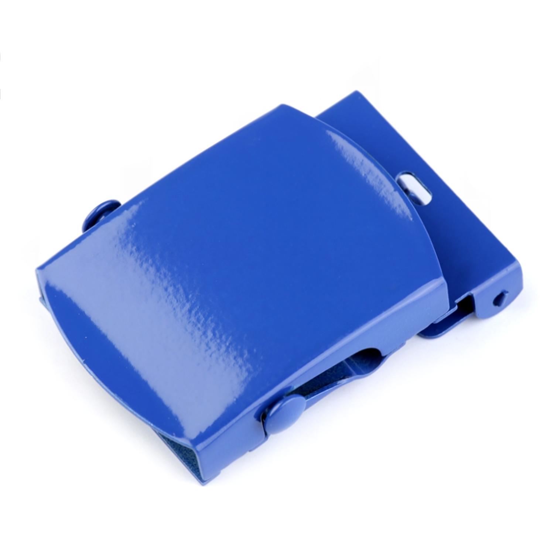 Gürtelschnalle - 34mm  - Blau