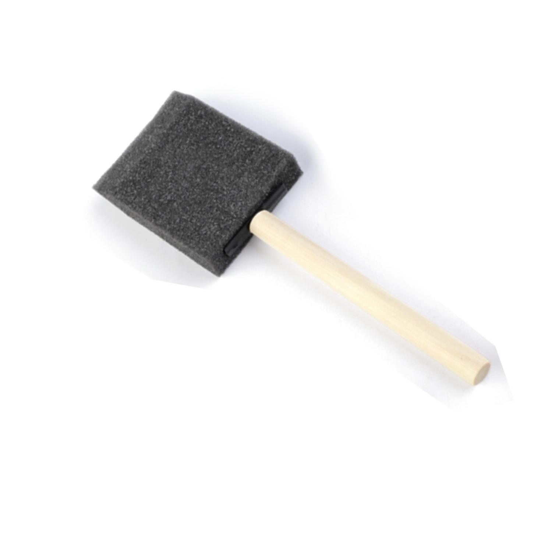Schaumpinsel - 5,0 x 6,5 cm - Schwarz