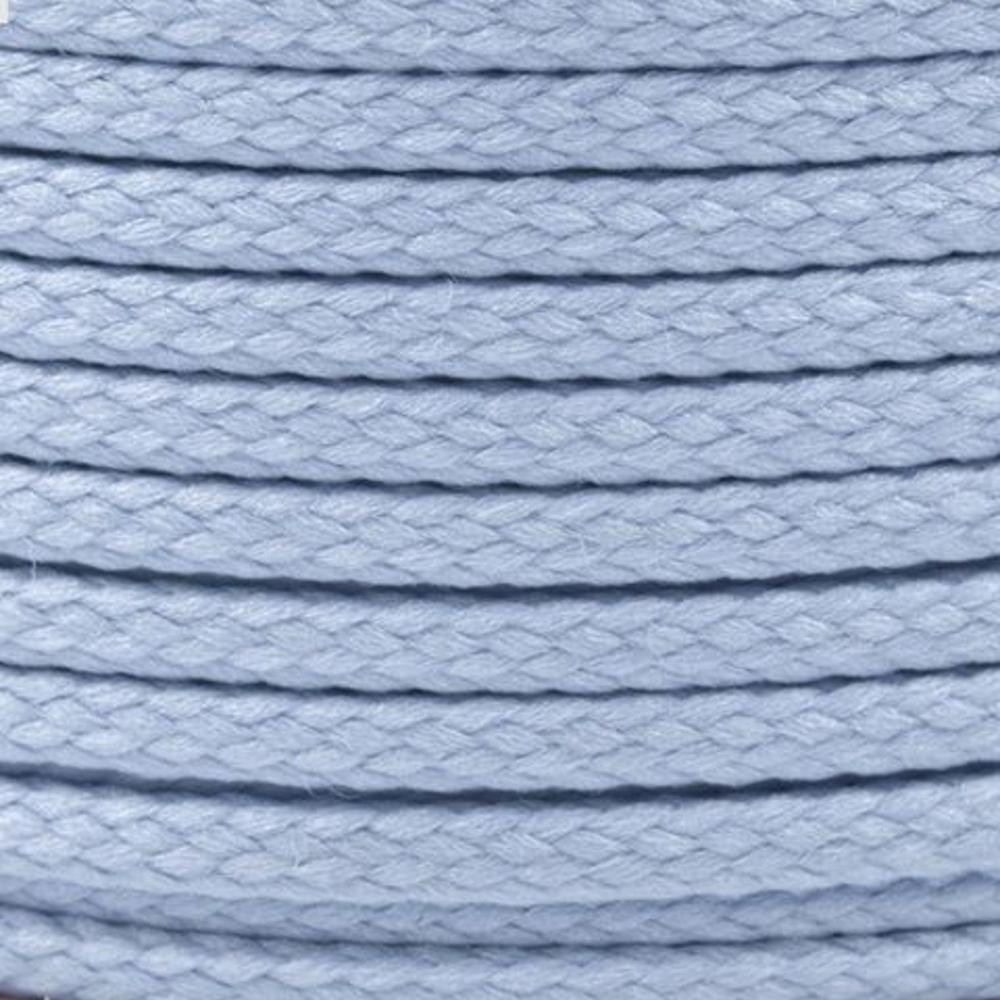 Polyesterschnur 4mm aus 100% Polyester in Kaschmir Blau (0127)