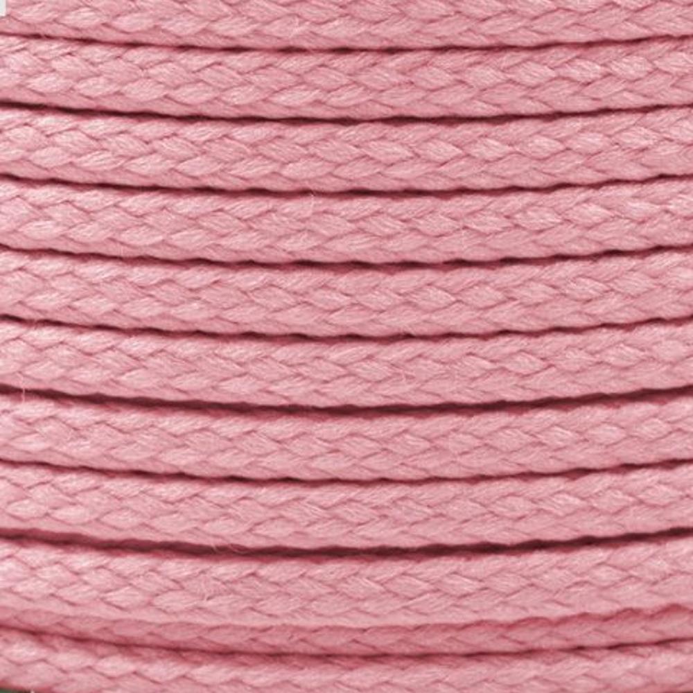 Polyesterschnur 4mm aus 100% Polyester in Pink (0304)