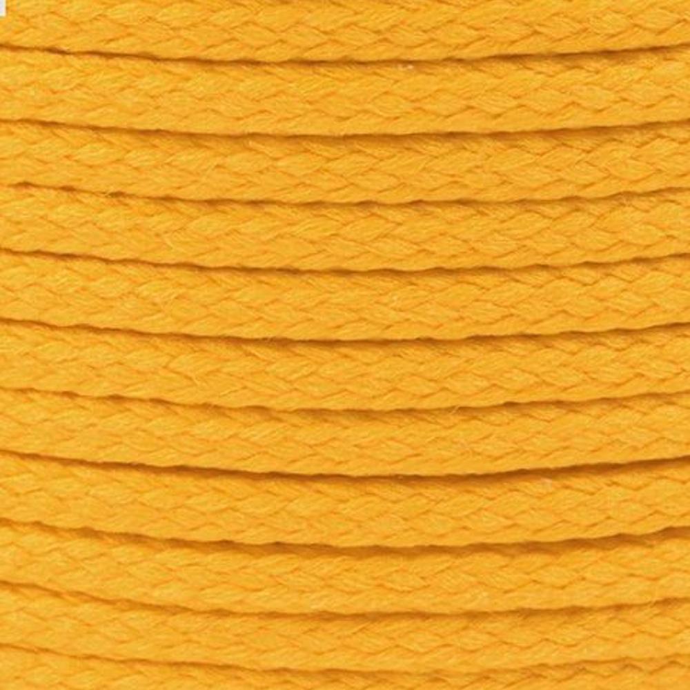 Polyesterschnur 4mm aus 100% Polyester in Hellorange (1408)