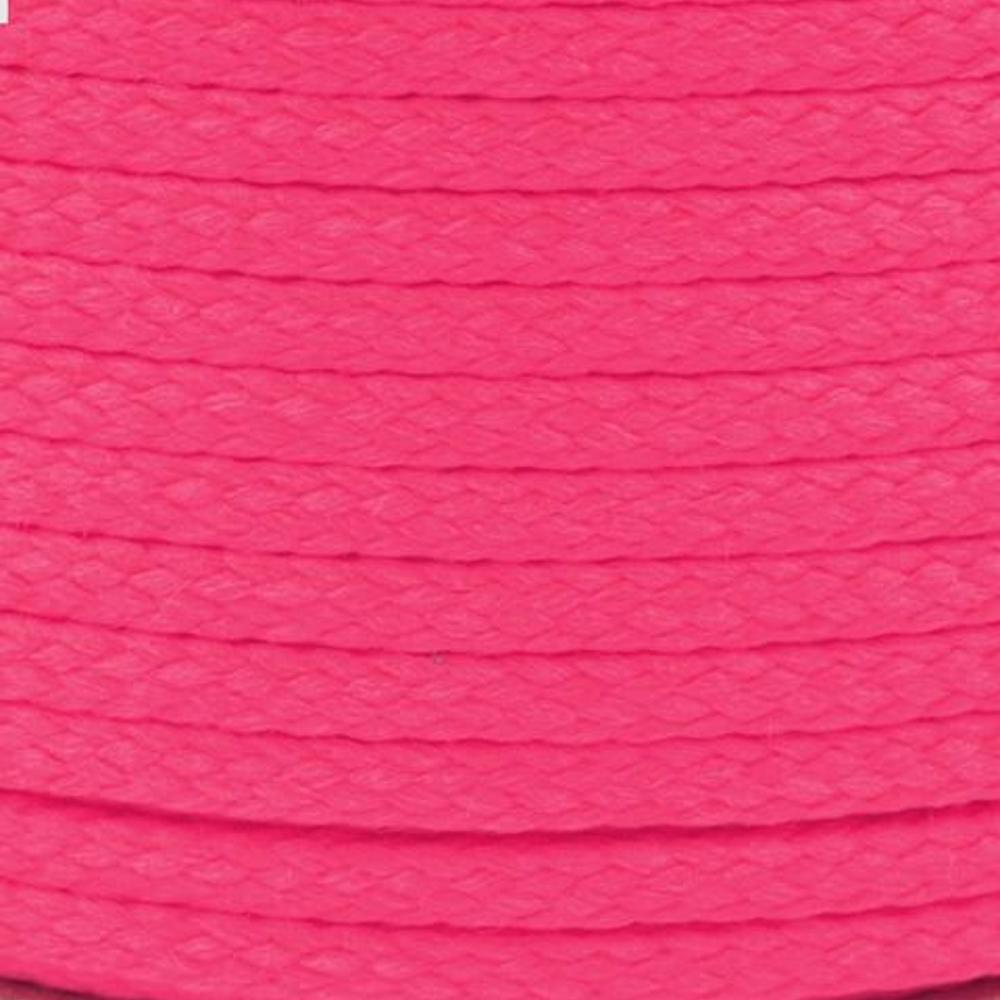 Polyesterschnur 4mm aus 100% Polyester in Magenta (3358)