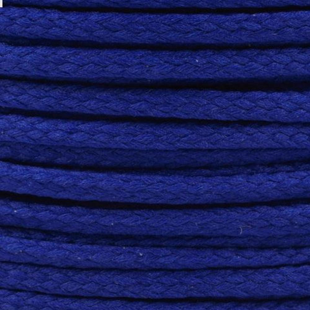 Polyesterschnur 4mm aus 100% Polyester in Tintenblau (4657)