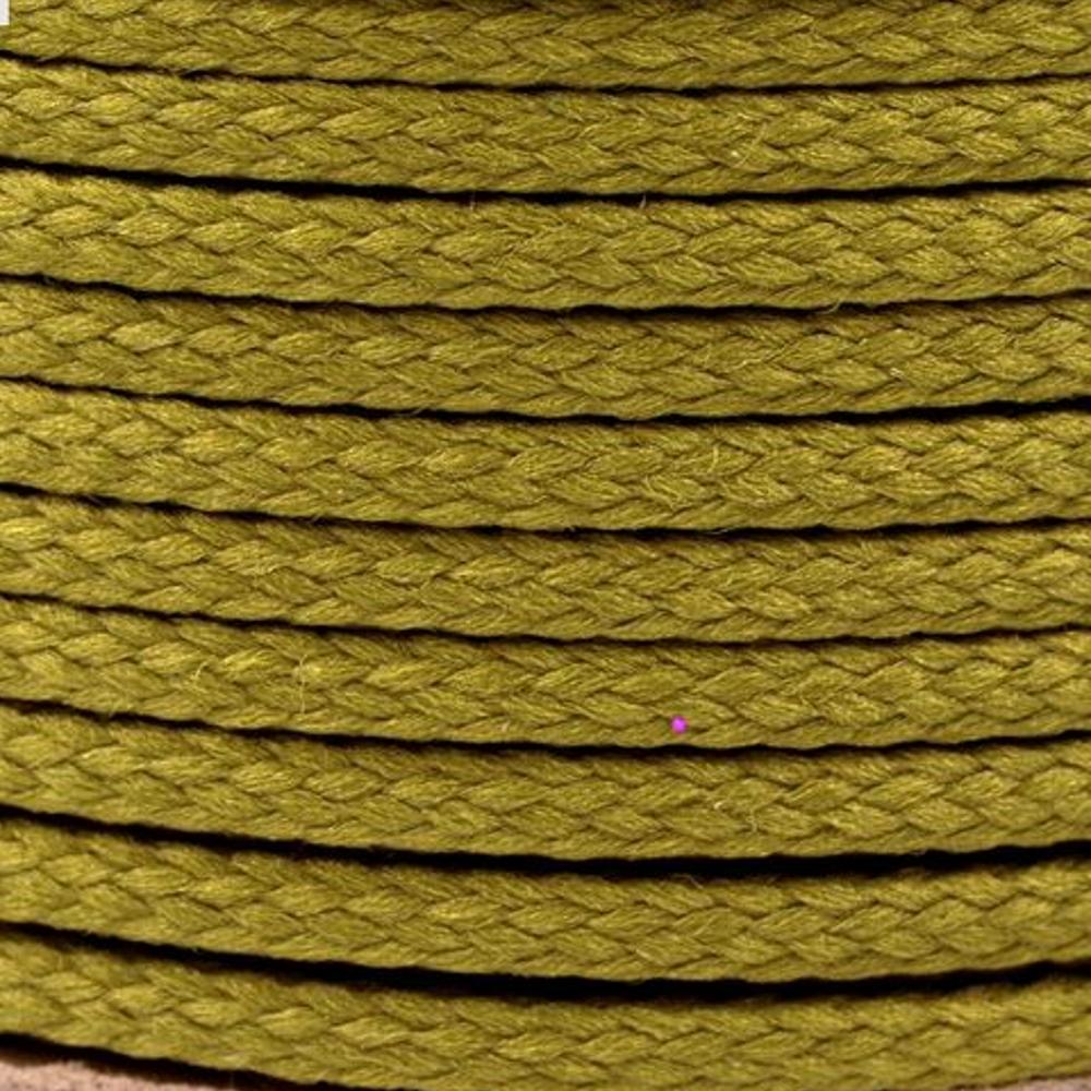 Polyesterschnur 4mm aus 100% Polyester in Woodbine (6787)