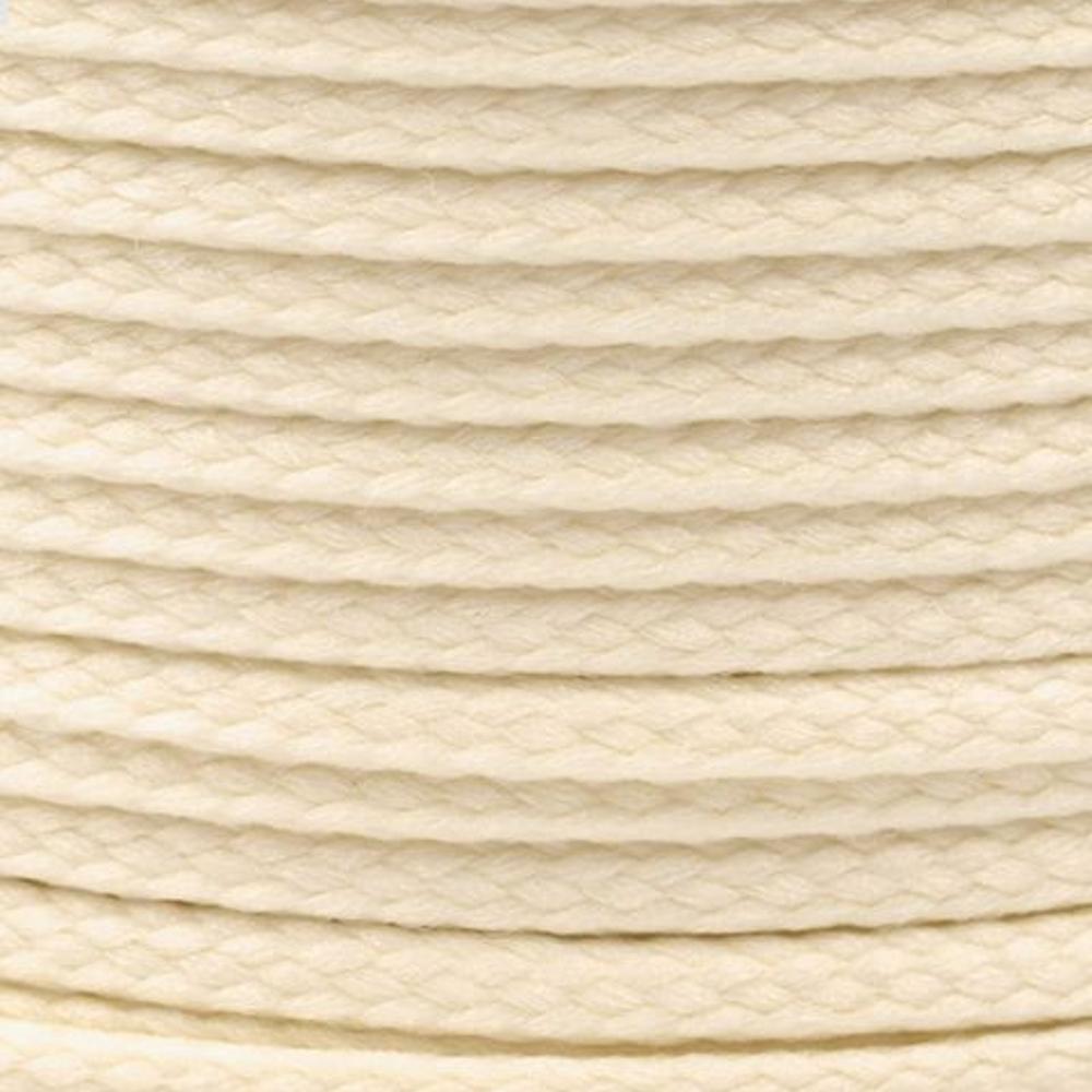 Polyesterschnur 4mm aus 100% Polyester in Beige hell 0408
