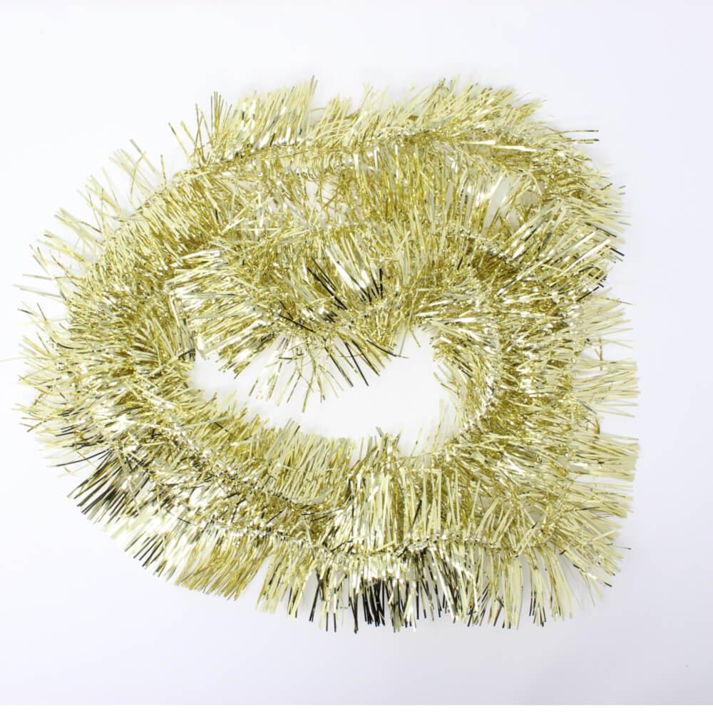 Girlande in goldfarbenn 200cm lang und 10cm breit