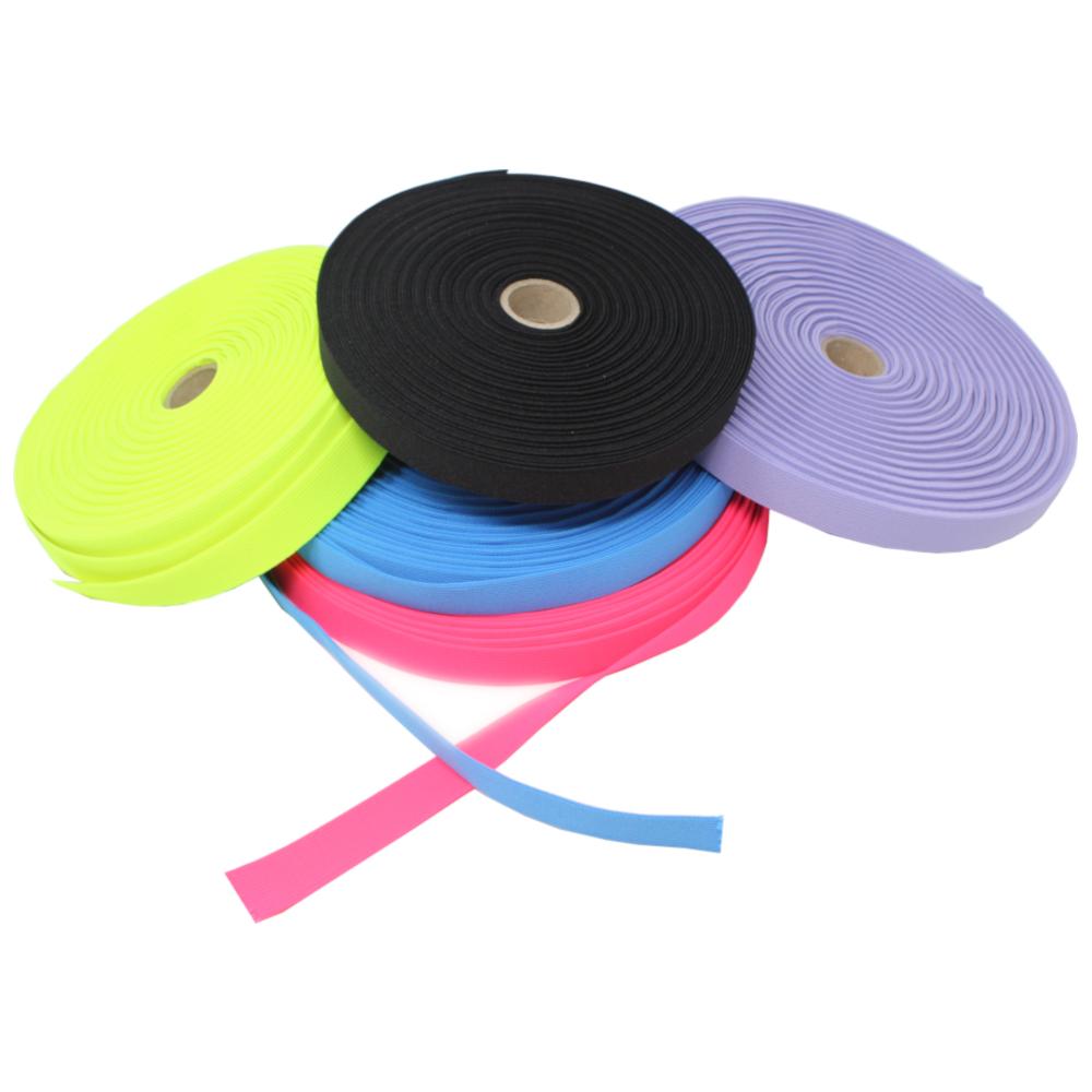 Gummiband - glatt - 20mm breit - verschiedene Farben