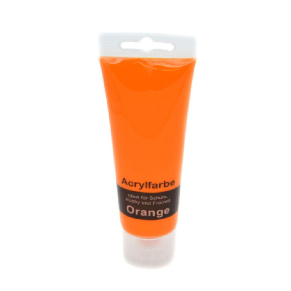75ml Acrylfarbe in Orange