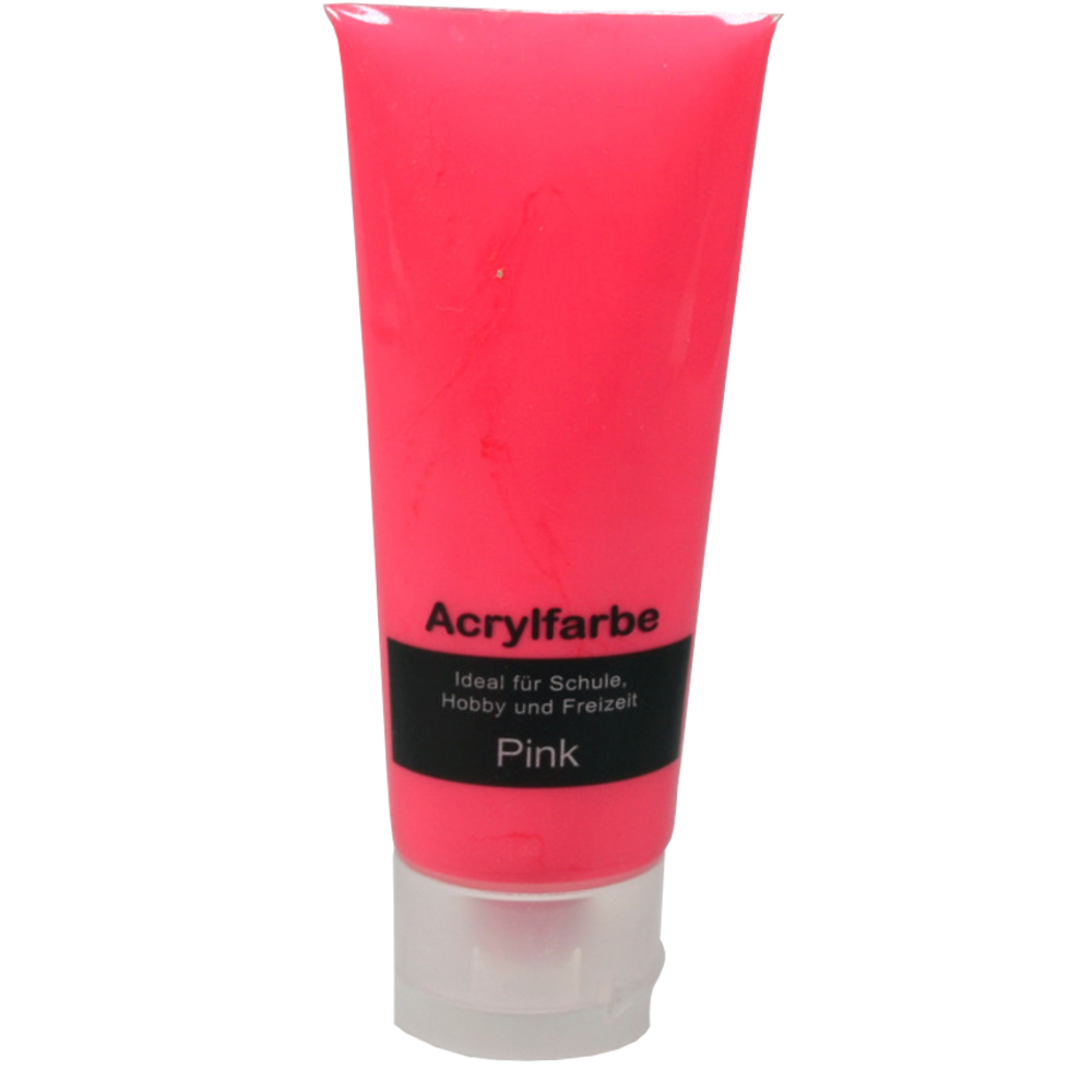 75ml Acrylfarbe in Pink