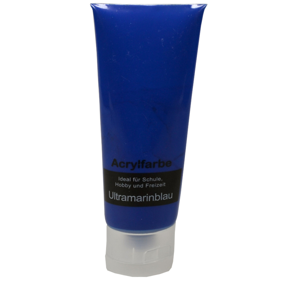 75ml Acrylfarbe in Ultramarineblau