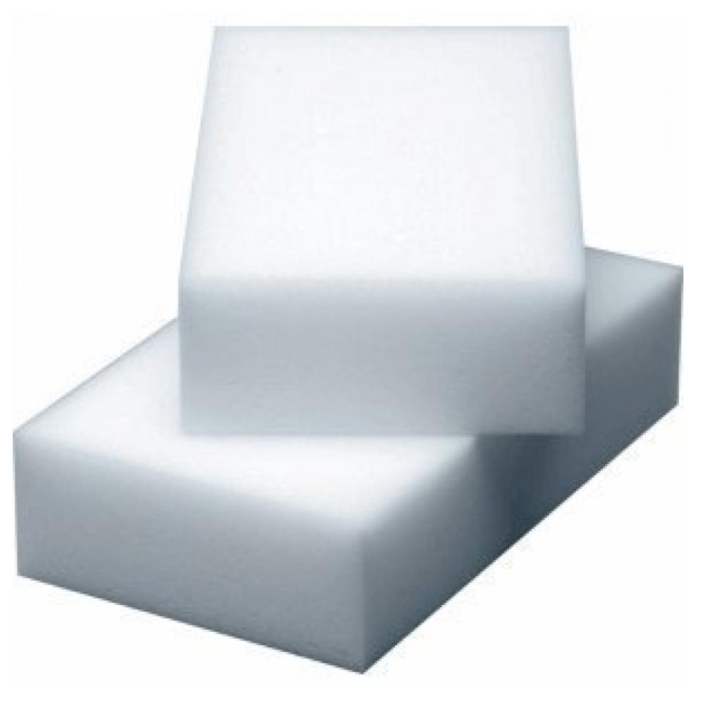 3 Stück Schmutz Radierer 11x6,5x2cm in weiß
