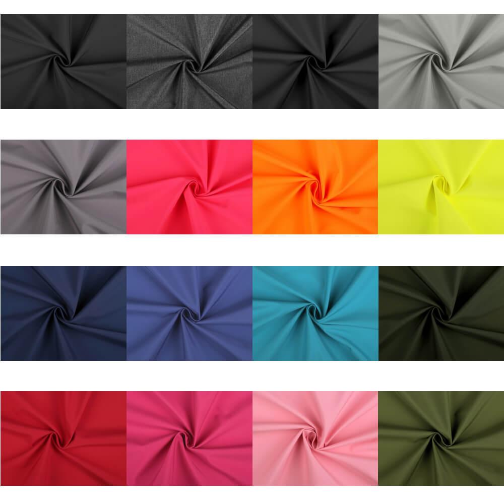 Sommer - Softshell 190 - 200 g/m² Unifarben