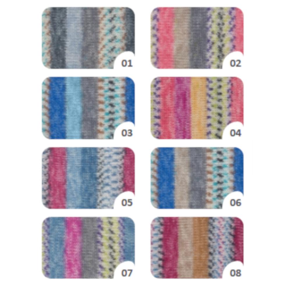 Hot Socks Torbole, 6-fach Sockenwollgarn