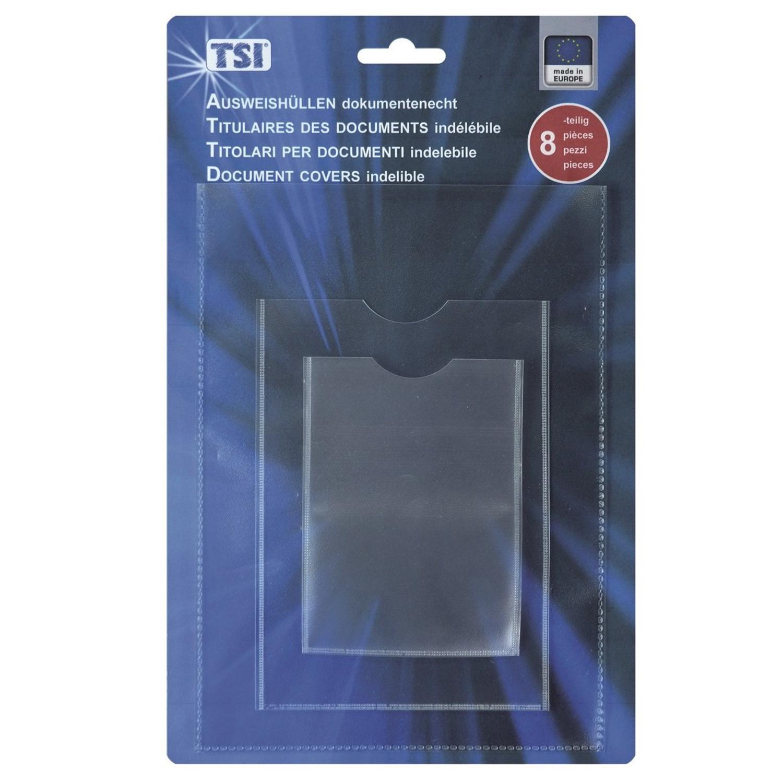 TSI - 8er Pack Ausweishüllen